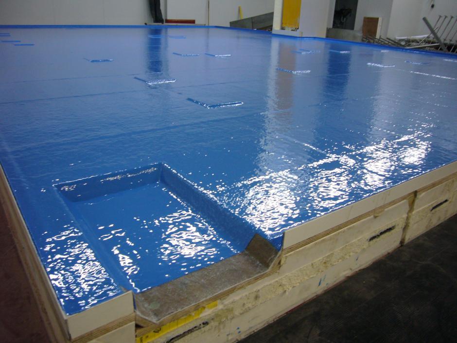Polyester Badkamer Vloer : Vloeren